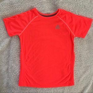 Reebok vented neon orange athletic shirt